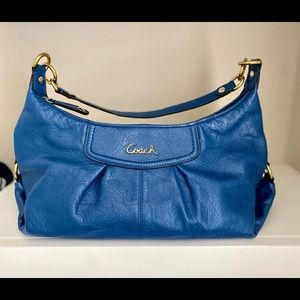 Coach Ashley Leather Hobo Crossbody Bag (F19761)